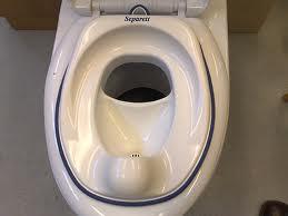 Separett composting toilet child seat