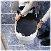Separett FAQ composting toilet emptying