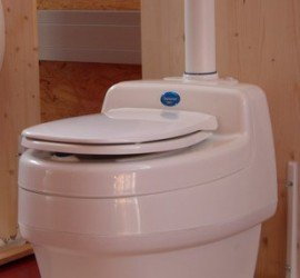 Separett USA Composting Toilet