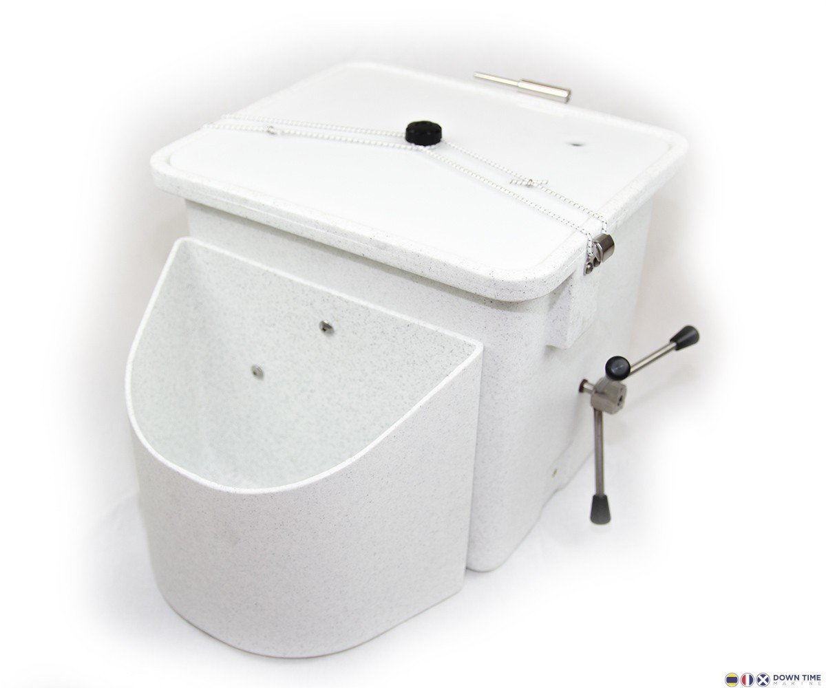 Nature's Head composting toilet extra base with lid