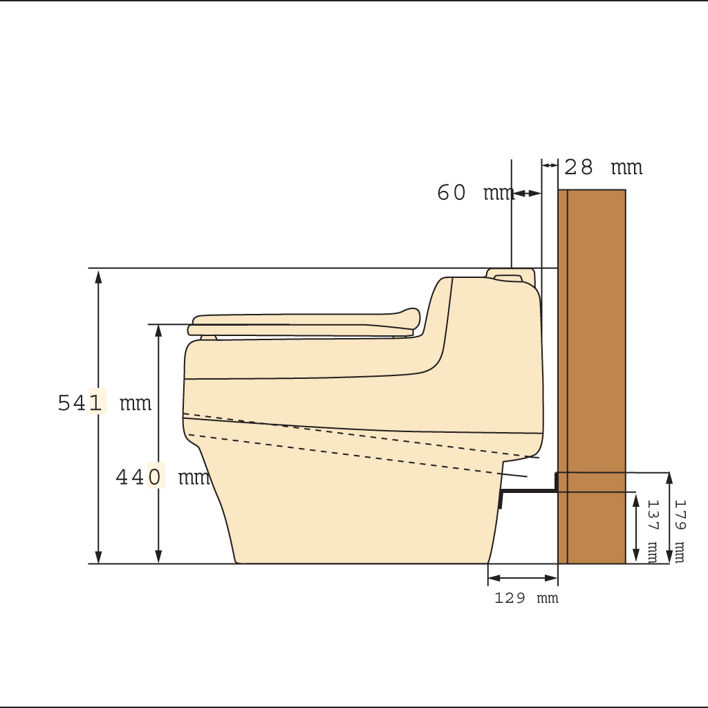 how to build flushing composting toilet