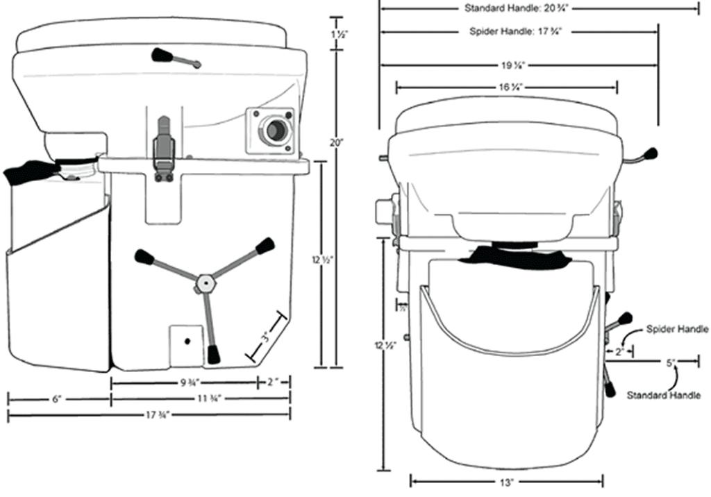 Toilet Parts Composting Toilets