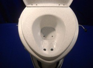 urine diverting toilet bowl