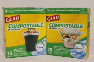 Glad Tall Compostable bags are a good substitute for Separett bags